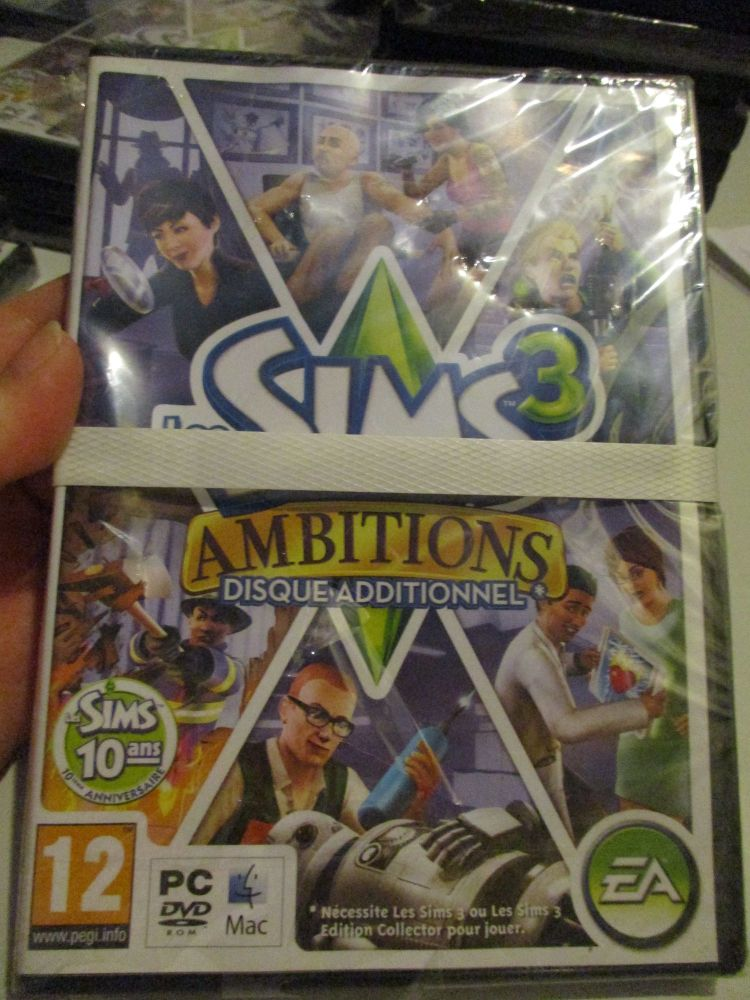 The Sims 3: Ambitions Expansion Pack (French) Pal PC DVD / Mac #FM0519