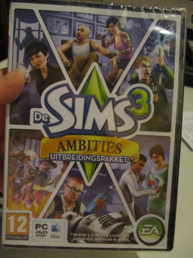 The Sims 3: Ambitions Expansion Pack (Dutch) Pal PC DVD / Mac #FM0520