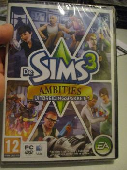 The Sims 3: Ambitions Expansion Pack (Dutch) Pal PC DVD / Mac #FM0515