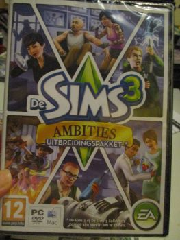 The Sims 3: Ambitions Expansion Pack (Dutch) Pal PC DVD / Mac #FM0513