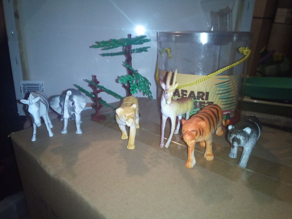 Zebra Set - Safari Animal Figures - Play Set - King