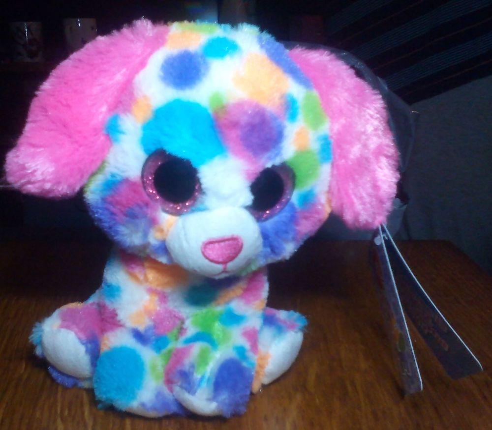 Disco Multicoloured Dog - Goshie Friends Beanie