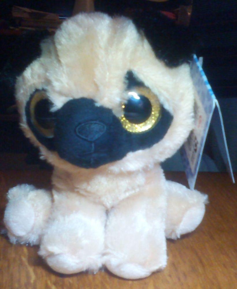 Pugsy Brown And Black Pug - Goshie Friends Beanie