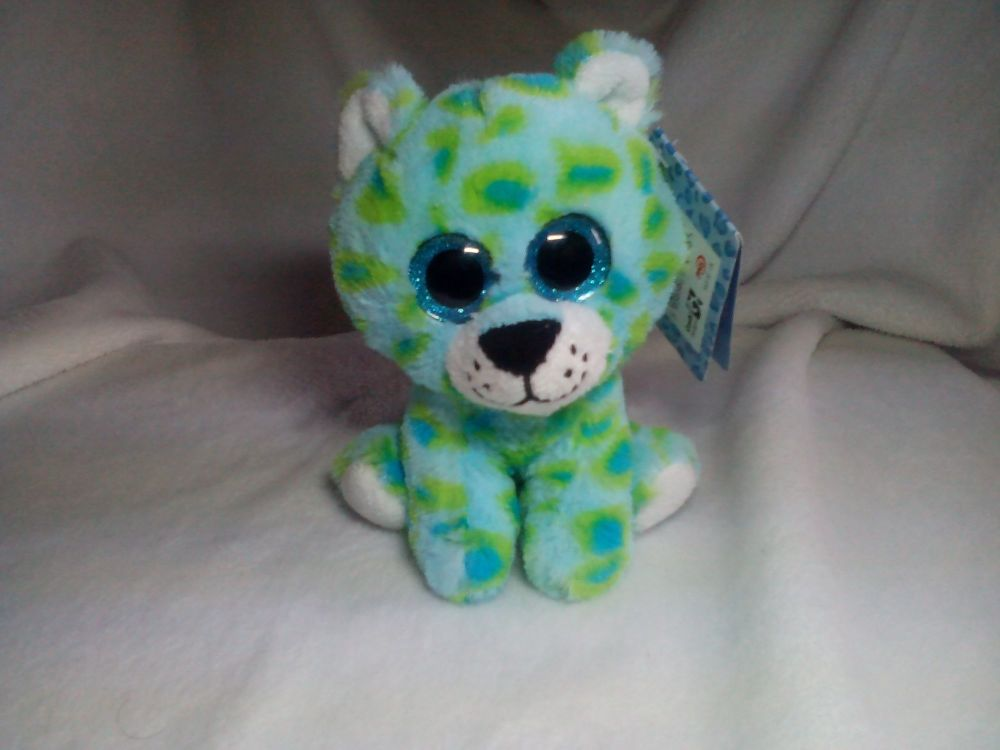Chip Green Spotted Cheetah - Goshie Friends Beanie