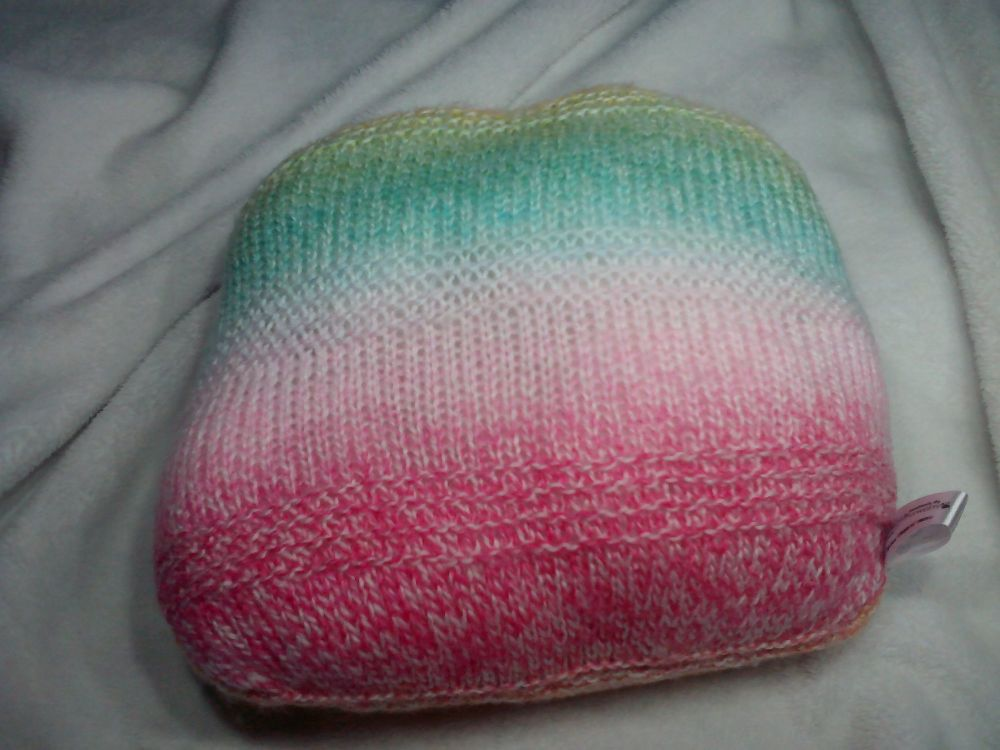 Orange Yellow Green Blue Pale Pink, Dark Pink Rainbow Sedge Cushion