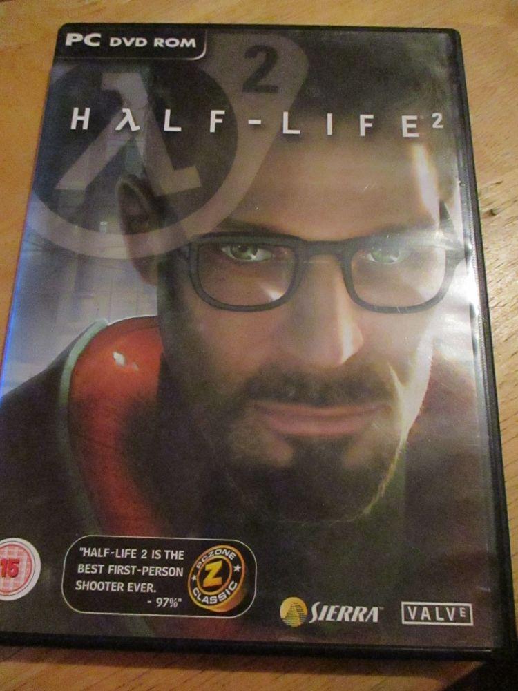 PC DVD-rom Half-life 2 - Backup Copy