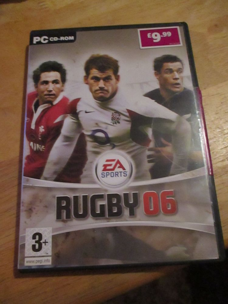 Pc Cd-Rom Ea Sports Rugby 06
