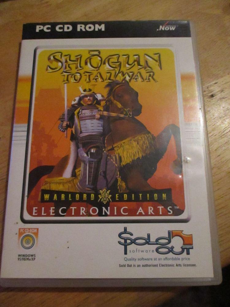 Pc Cd-Rom Shogun Total War Warlord Edition