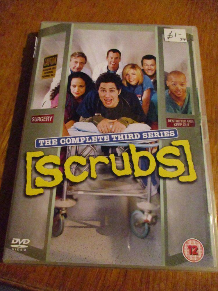 Scrubs Complete Third Series DVD