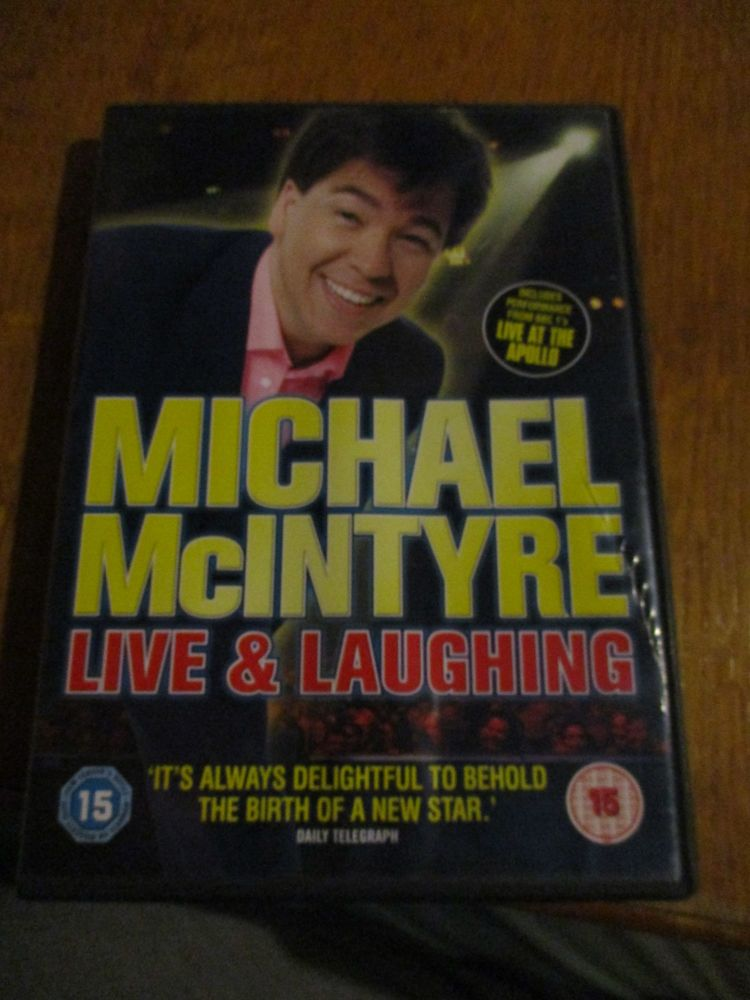 Michael McIntyre - Live & Laughing DVD