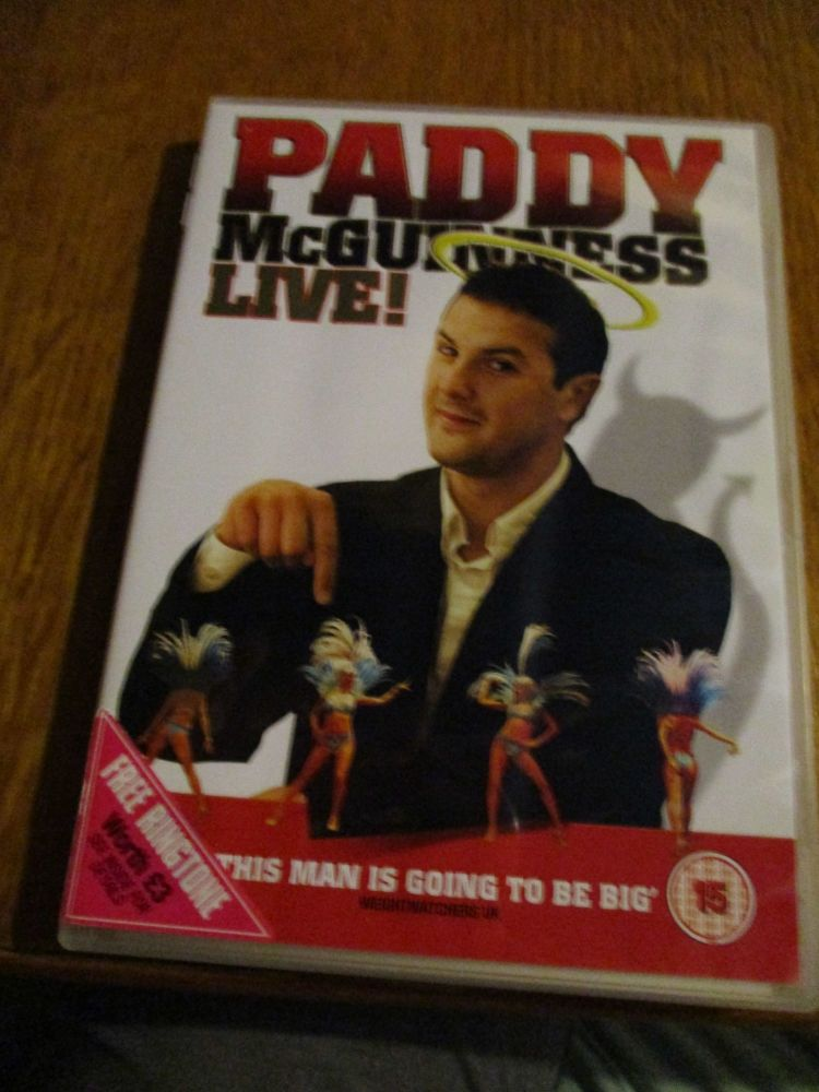 Paddy McGuiness - Live DVD