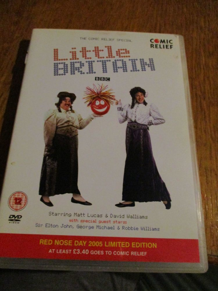 Little Britain Comic Relief 2005 DVD