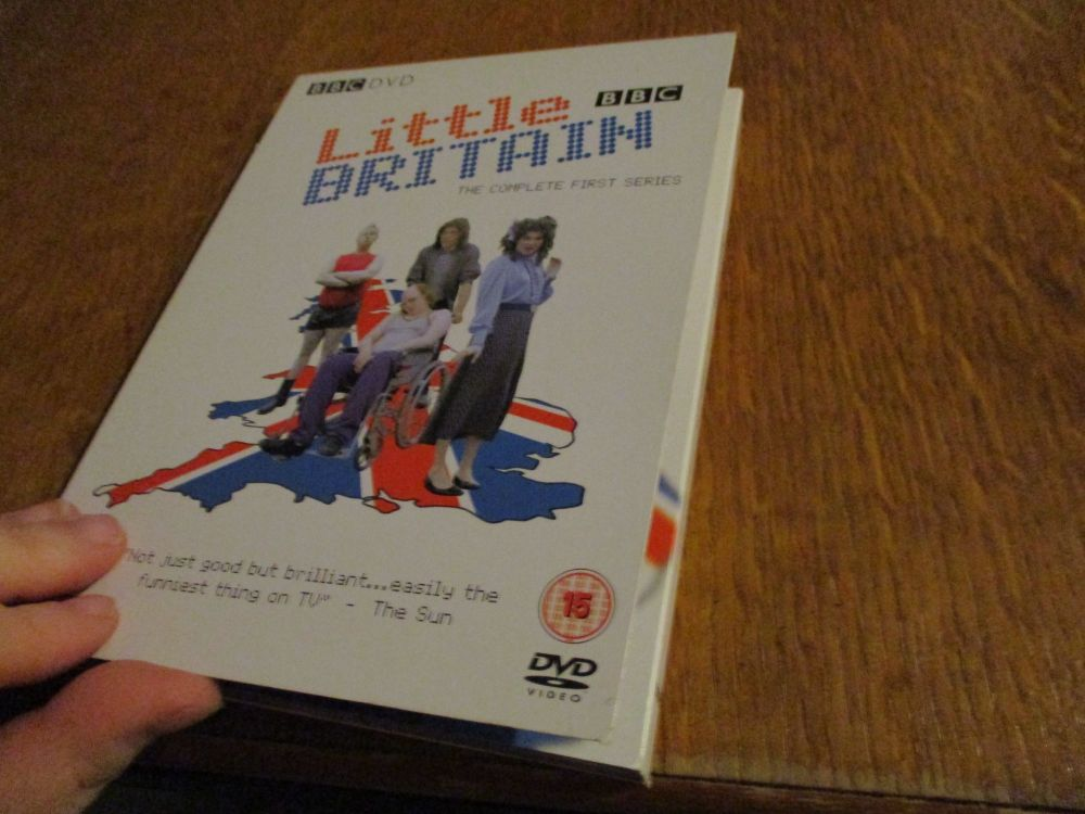 Little Britain Complete First Series - Cardboard Fold Case DVD