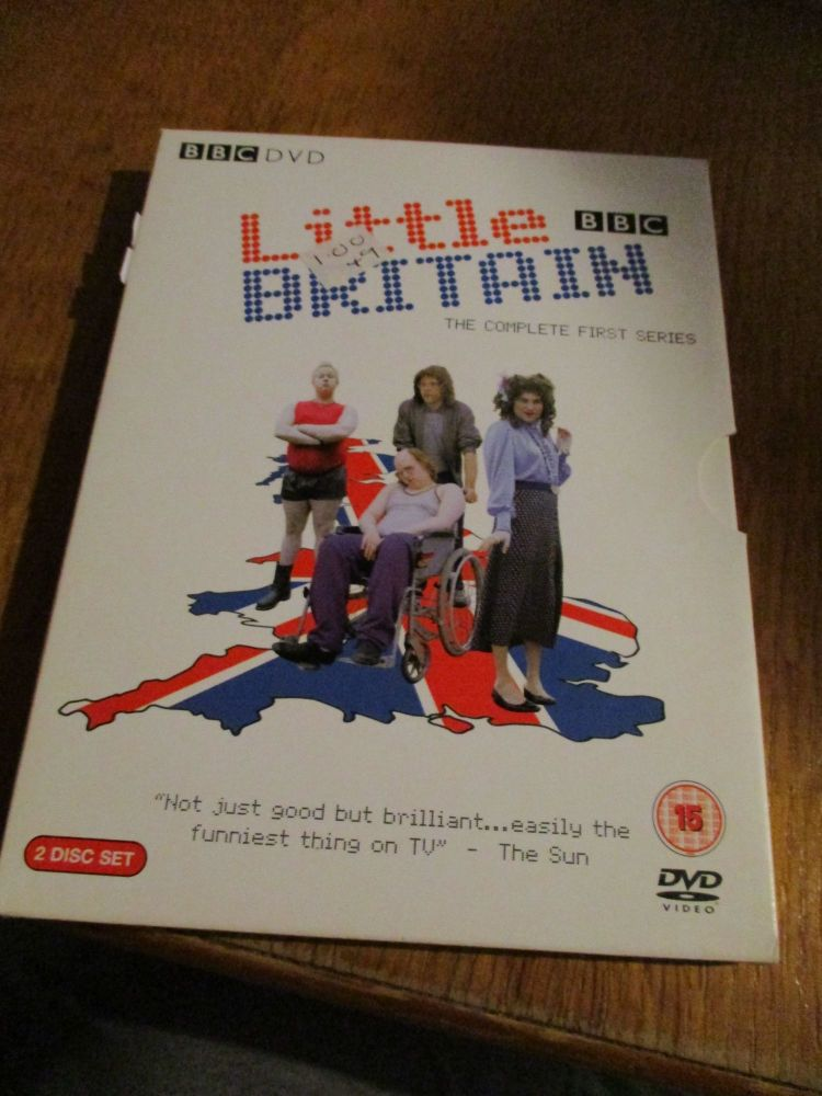 Little Britain Complete First Series - Cardboard Fold Case in Sleeve DVD