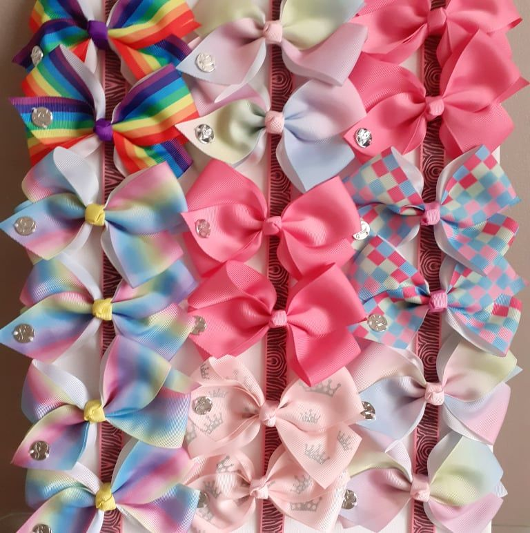Knot Ribbon Hair Bows