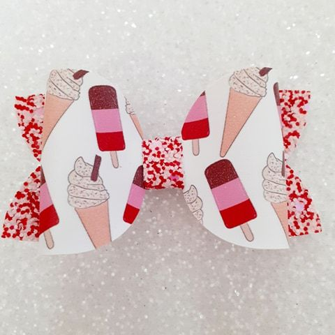 Ice Lollies on Red