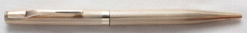 No.7930. William Manton Solid 9ct Gold Pencil.