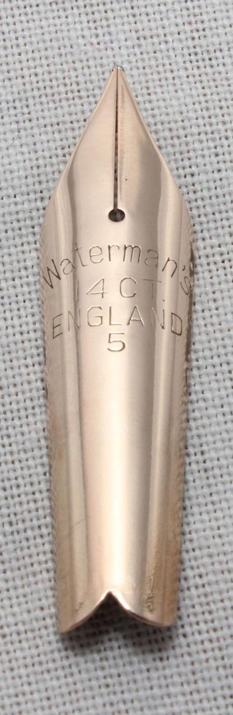 Watermans Ideal #5 Nib (Fine)