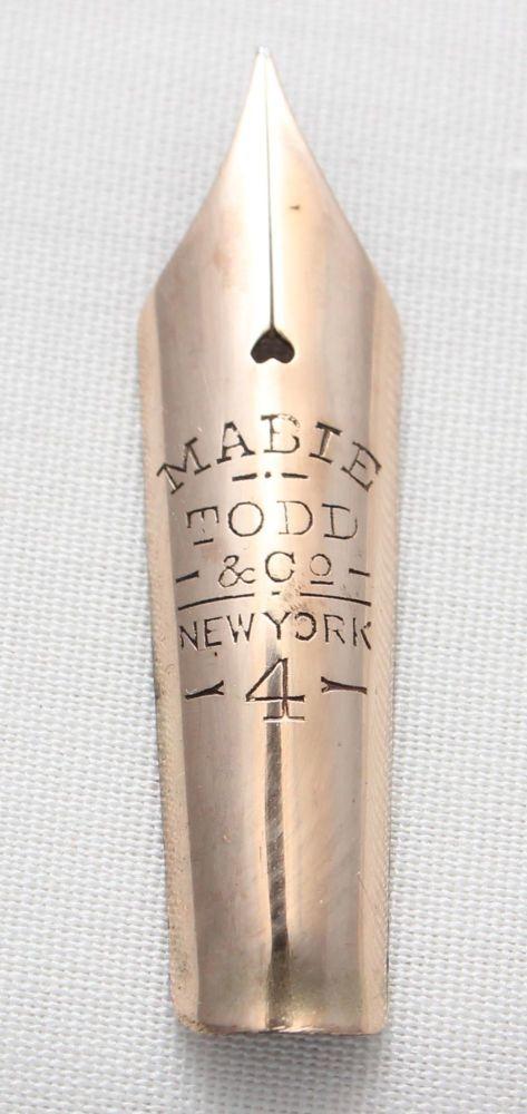 Mabie Todd No.4 Eternal Nib (Fine)
