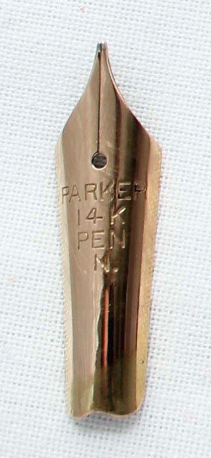 Parker Duofold Newhaven Nib (Medium) N395