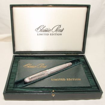 8338 Classic Pens Sterling Silver Prototype. Mint and Boxed.