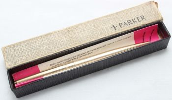 8430 Parker 61 MkI GT Ball Pen in Rolled Gold.