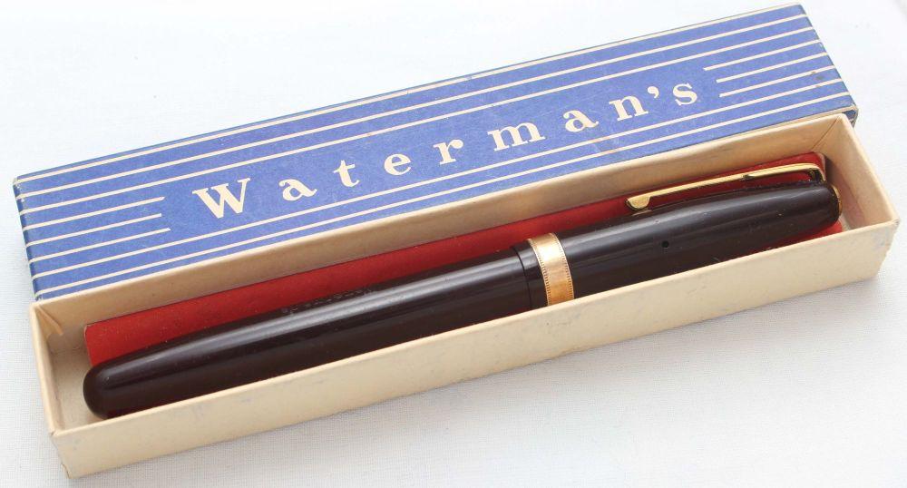 8457 Watermans 515 Fountain Pen in Dark Maroon, Smooth Extra Fine FIVE STAR