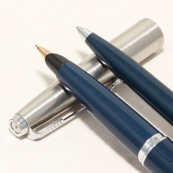 8468 Parker 45 CT Fountain Pen and Ball Pen Set, Medium FIVE STAR Nib. Was £69, now £39