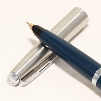 8474 Parker 45 CT in Blue. Smooth Medium Nib. Was £49, now £29