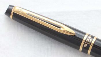 8509 Watermans Expert II Ball Pen in Black. Mint.