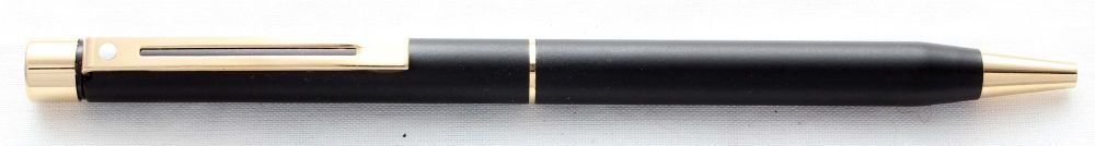 8510 Sheaffer Targa Ballpoint Pen in Matt Black, Mint.