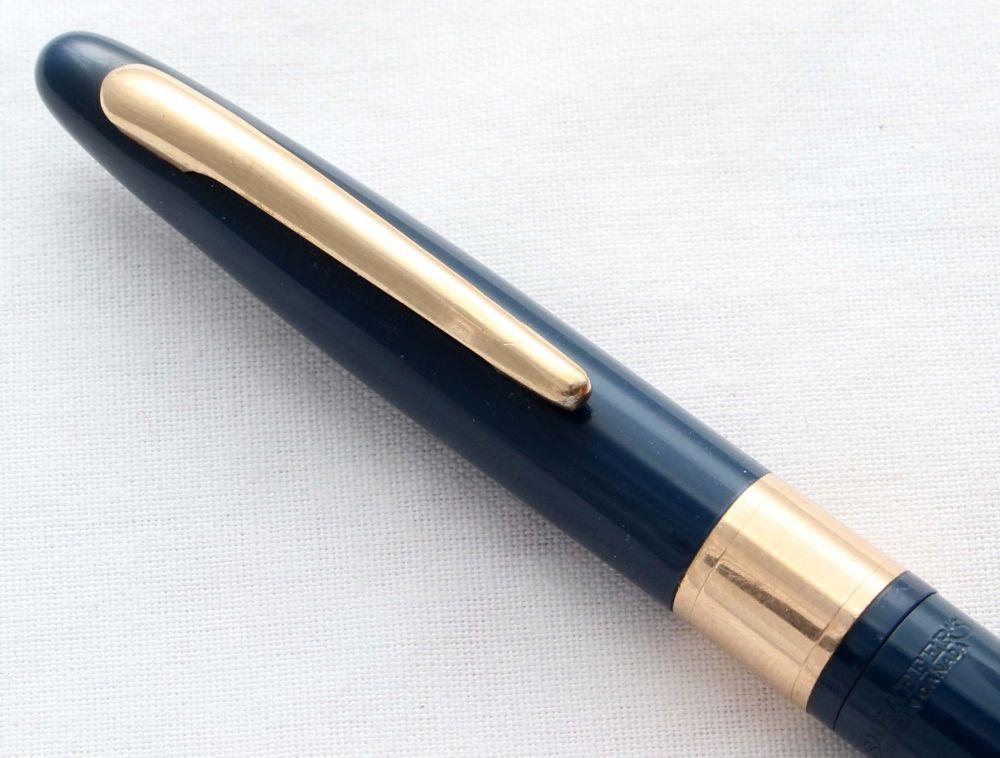8516 Sheaffer Valiant Propelling Pencil in Blue.
