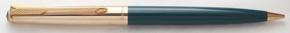 8585 Parker 61 Custom Propelling Pencil in Vista Blue.