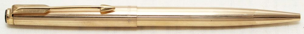 8781 Parker Falcon Ball Pen, Finished in Rolled Gold.