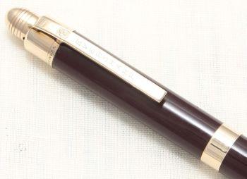 8793 Eversharp Skyline Pencil in Brown.