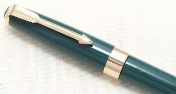 8794 Parker 17 Super Propelling Pencil in Green with Gold filled trim.