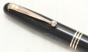 "8798 Mabie Todd ""Fyne Poynt"" Pencil in Classic Black."
