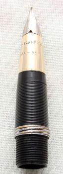 Sheaffer Snorkel Nib Unit. (Medium Italic) N506