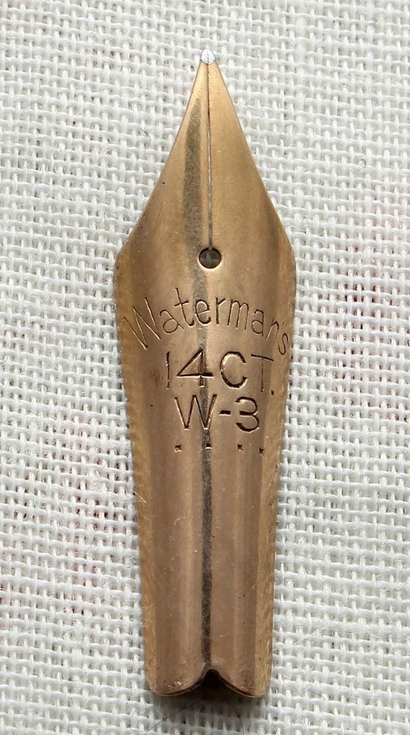 Watermans W3 Nib. (Fine) N556