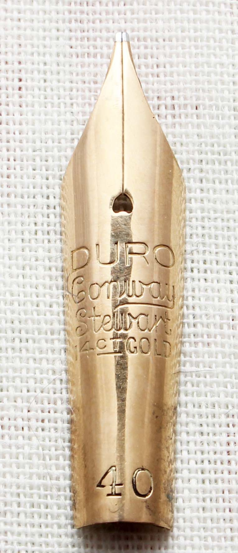 Conway Stewart Duro No.40 Nib. (Medium) N572