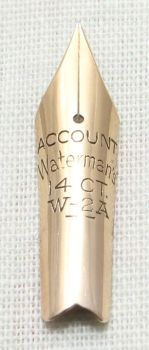 Watermans W2-A Nib. (Extra Fine Accounts) N586