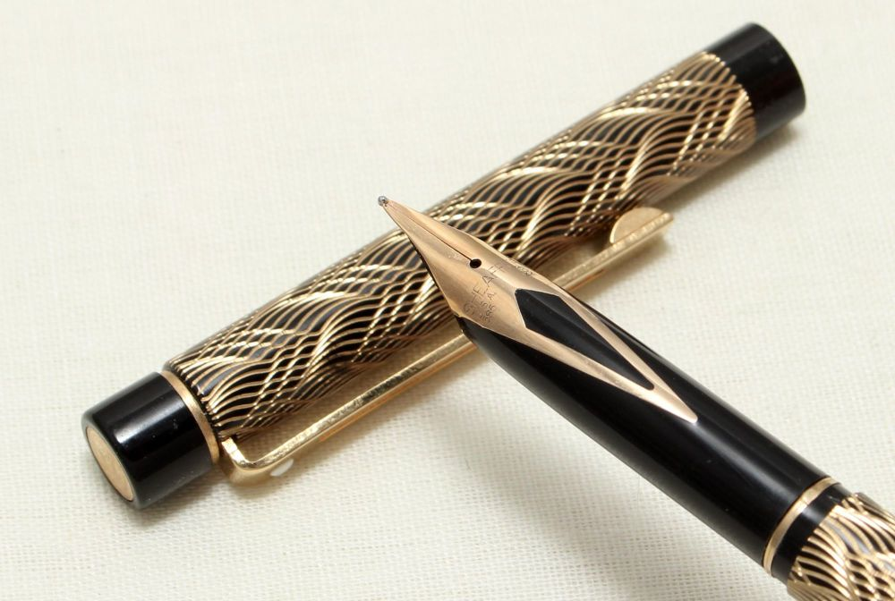 9049 Sheaffer Targa 676s Slim Fountain Pen