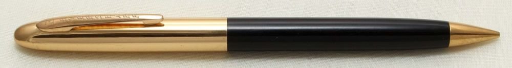 9228 Eversharp Symphony 1707 Propelling Pencil in Black with G/F Trim. New