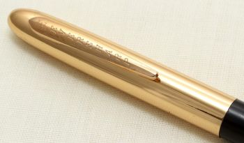 9228 Eversharp Symphony 1707 Propelling Pencil in Black with G/F Trim. New Old Stock.