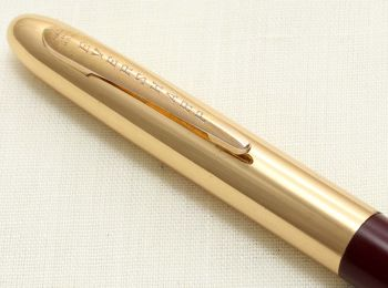 9230 Eversharp Symphony 1707 Propelling Pencil in Burgundy with G/F Trim. New Old Stock.