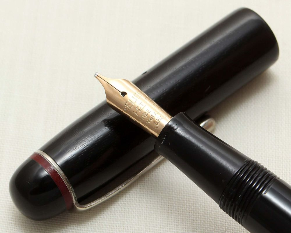 9236 Esterbrook Relief No.1 Fountain Pen (Made by Conway Stewart). Broad si