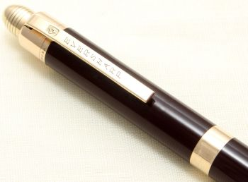 9119 Eversharp Skyline Pencil in Dark Brown.
