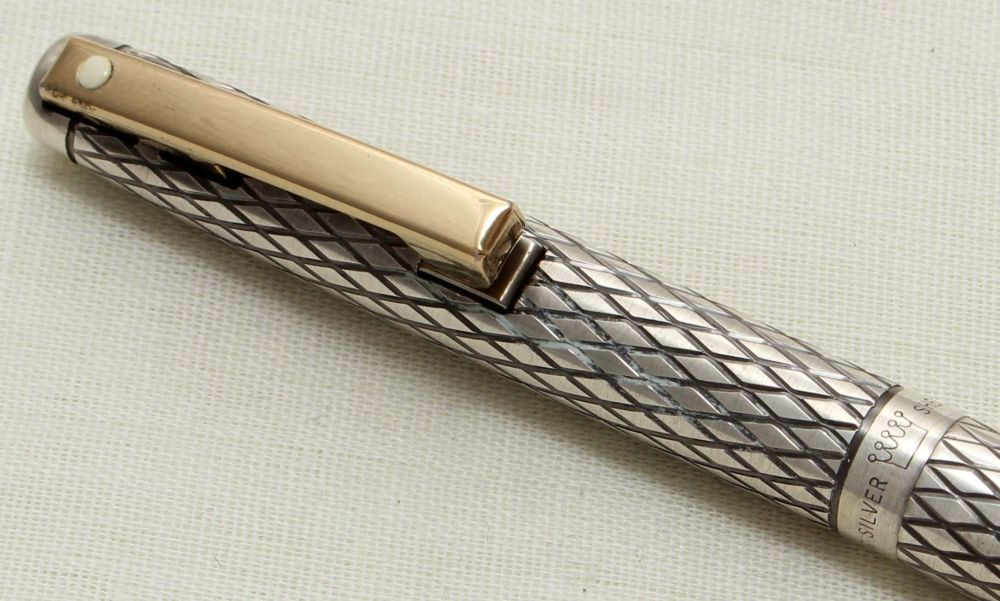 9306 Sheaffer Imperial Ball Pen in Sterling Silver.