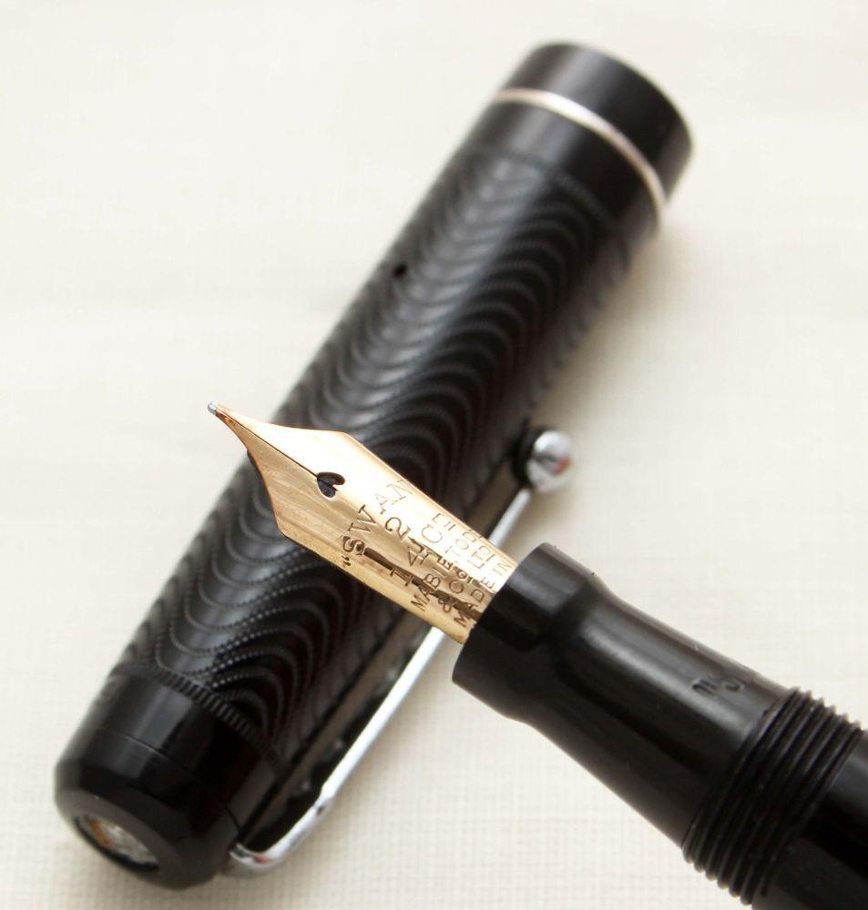 9383 Swan (Mabie Todd) L205/60 Leverless in Classic Black, Superb Fine Flex