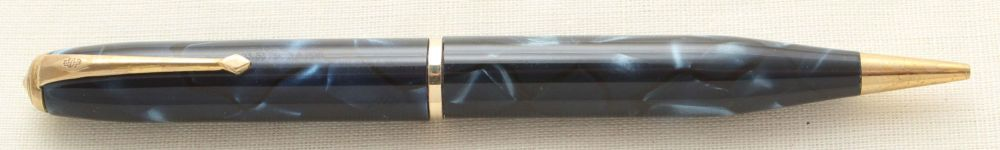 9510 Conway Stewart No.25 Propelling Pencil in Blue Marble.